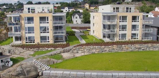 Utendørsbilde av Hystad brygge